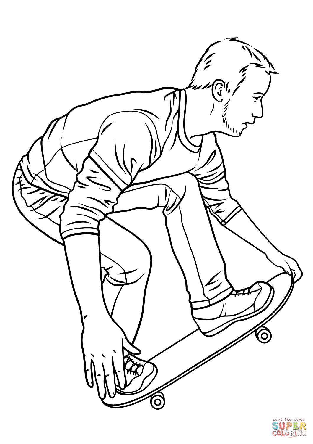 Penny Board Drawing At Getdrawings