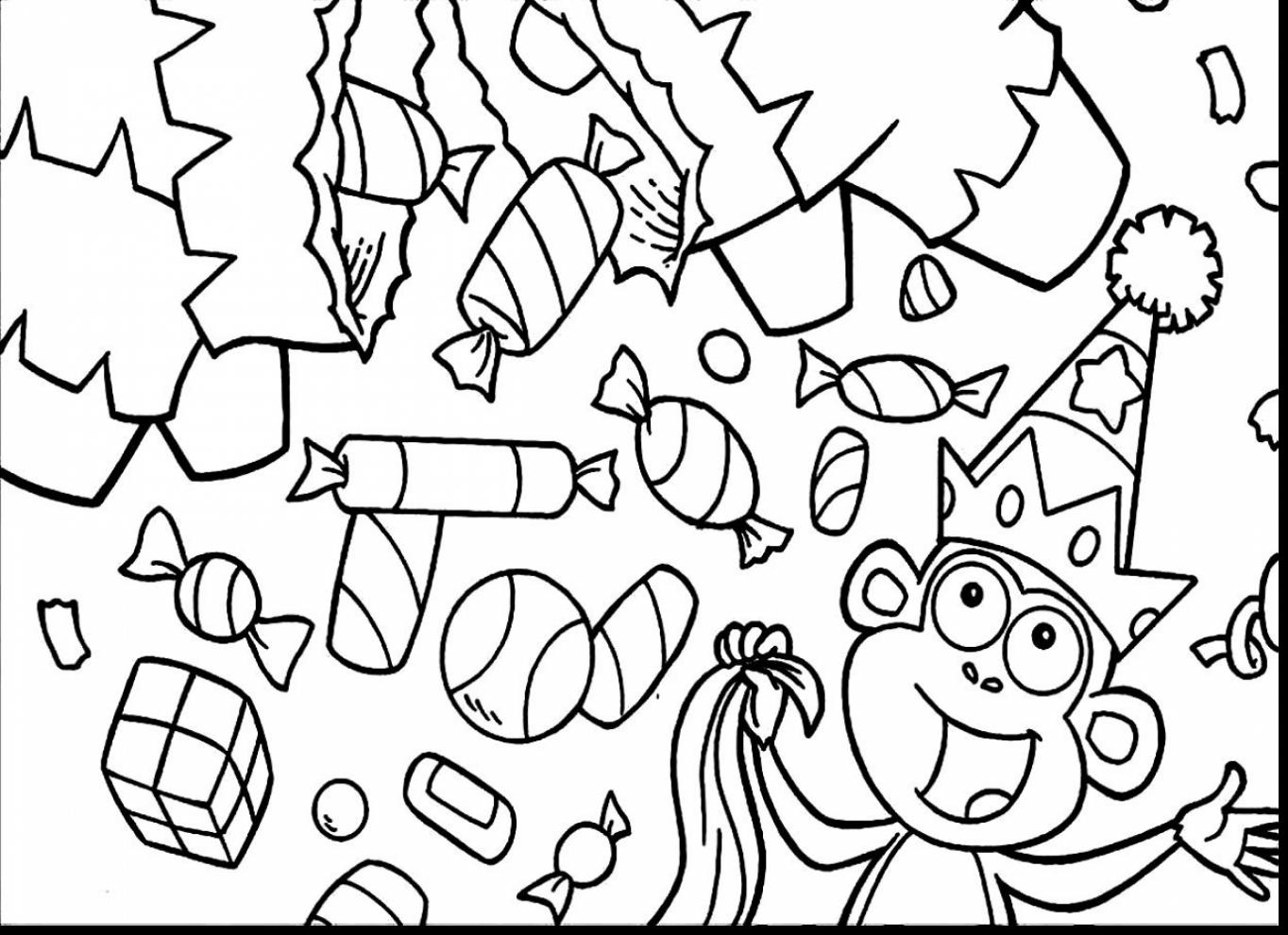 Christmas Candy Coloring Pages Free Coloring Pages Download | Xsibe ...