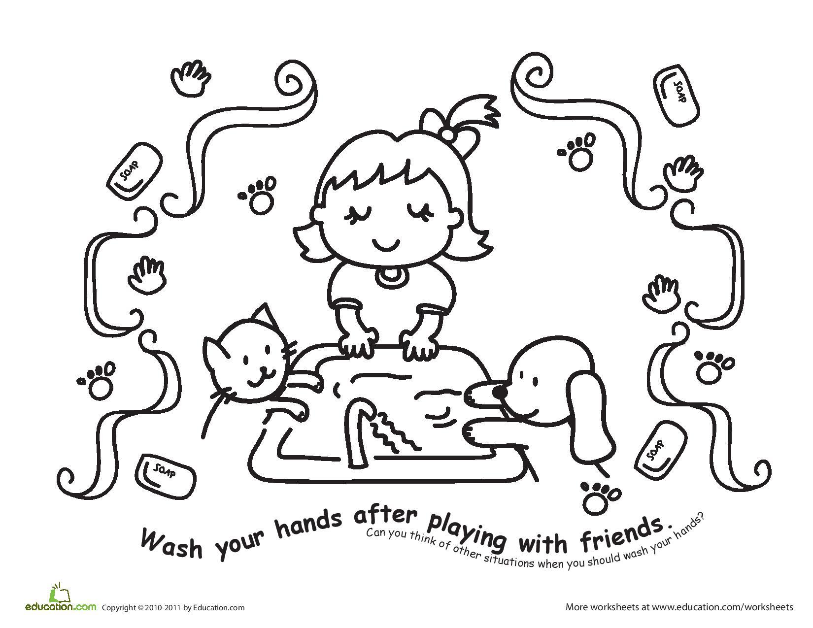 Personal Hygiene Drawing At Getdrawings