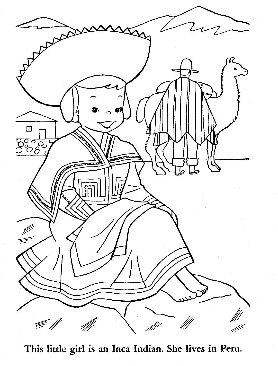 Peruvian Drawing At Getdrawings