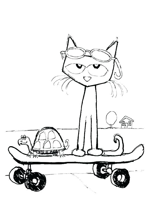 pete the cat drawing at getdrawings  free download
