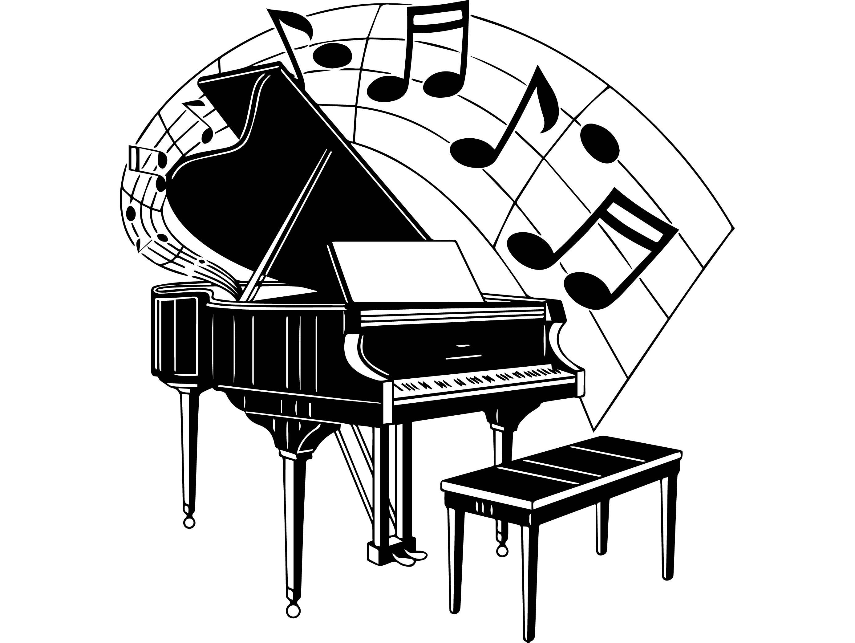 Piano Keyboard Drawing At Getdrawings