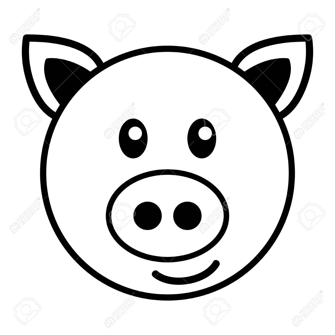 Pig Drawing Images At Getdrawings