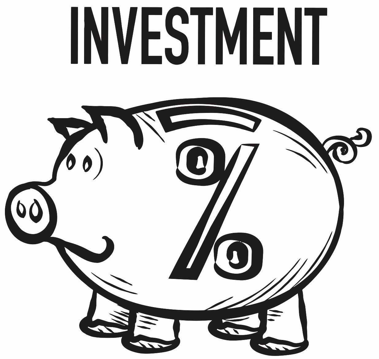 Piggy Bank Drawing At Getdrawings