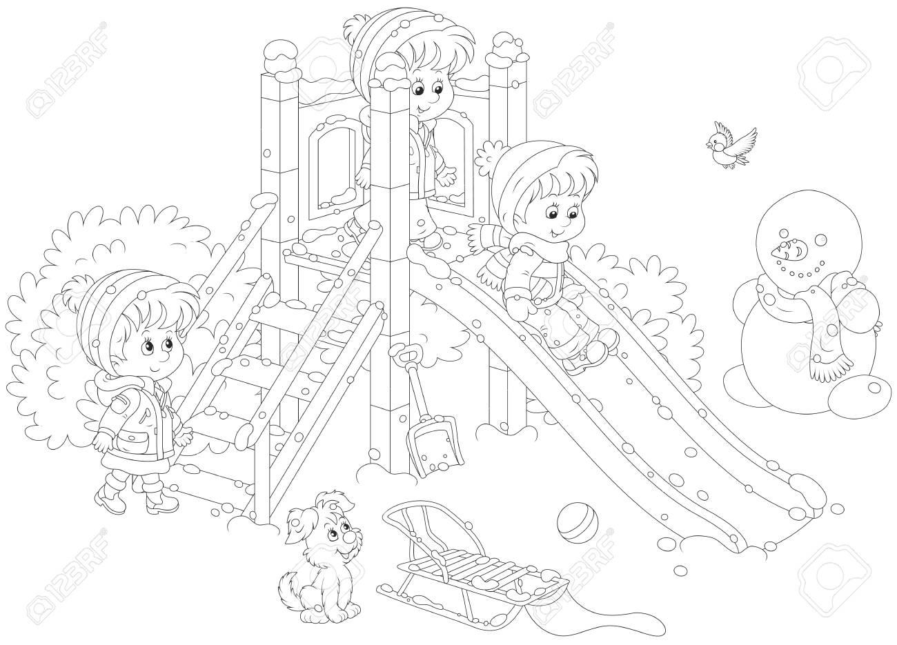 On A Playground