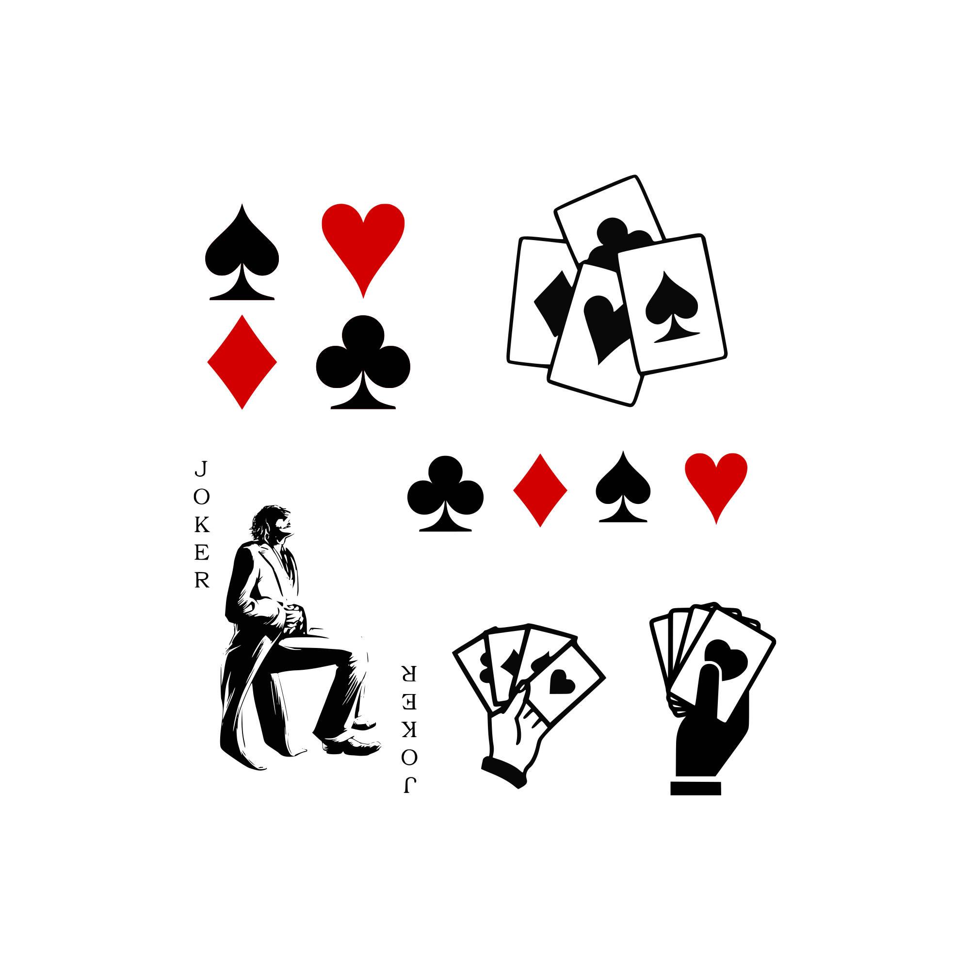 Playing Card Drawing At Getdrawings
