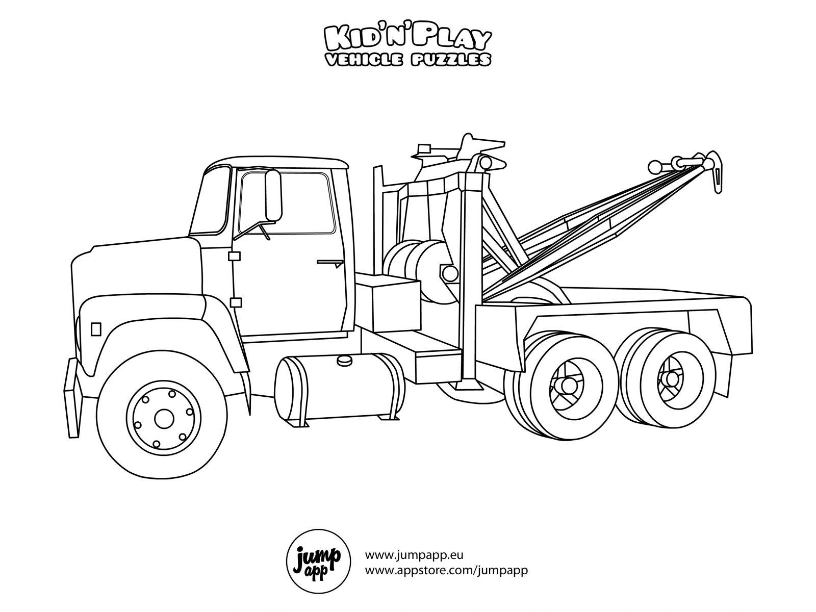 Plow Truck Drawing At Getdrawings
