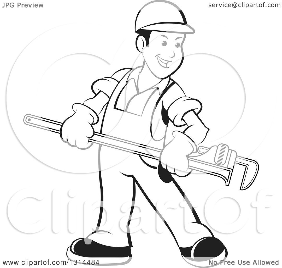 Plumber Drawing At Getdrawings
