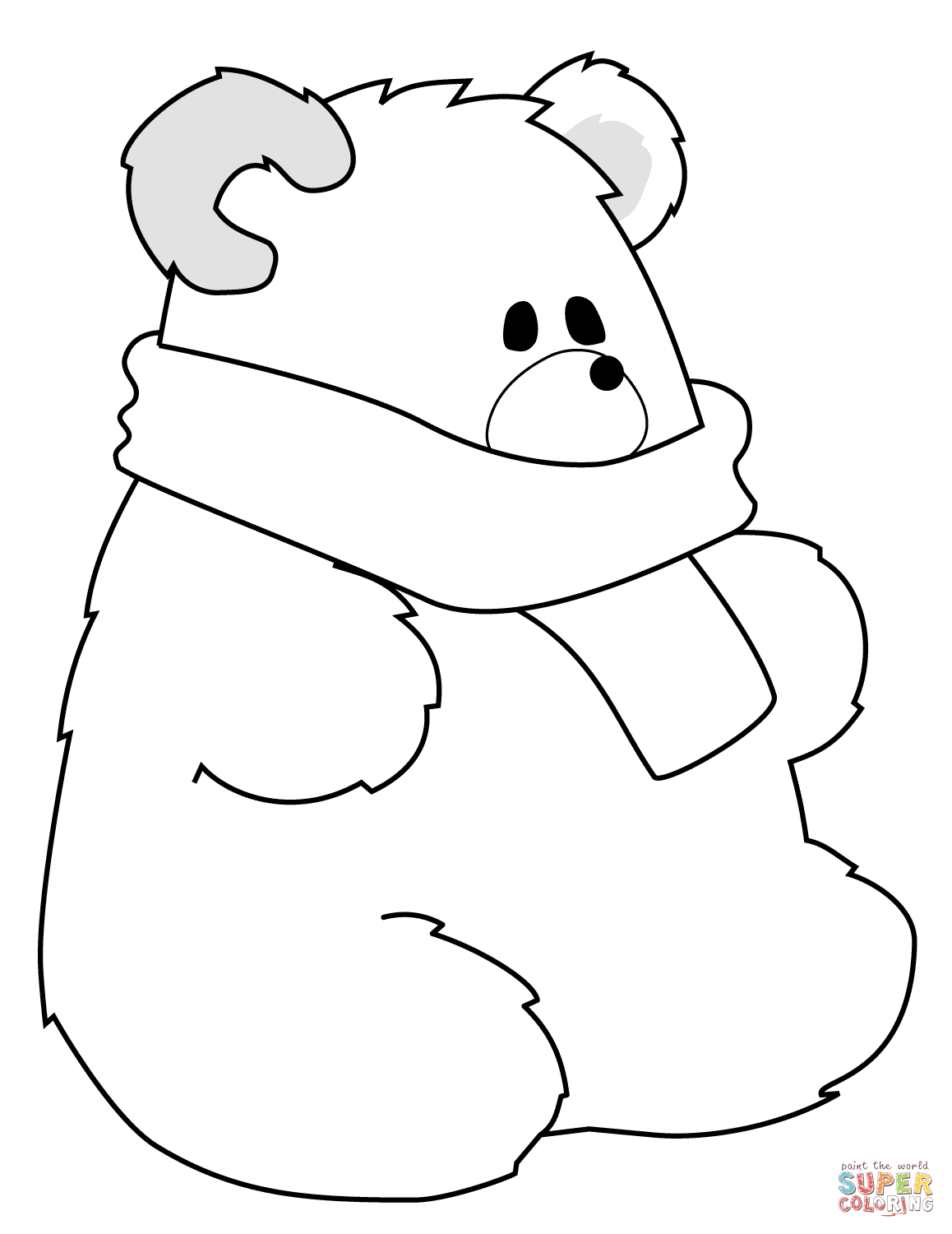 Polar Bears Drawing At Getdrawings