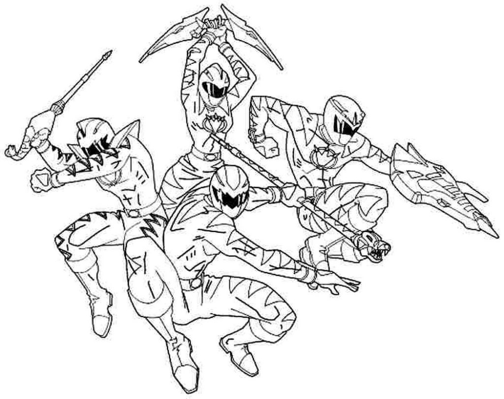 Power Rangers Dino Charge Drawing At Getdrawings
