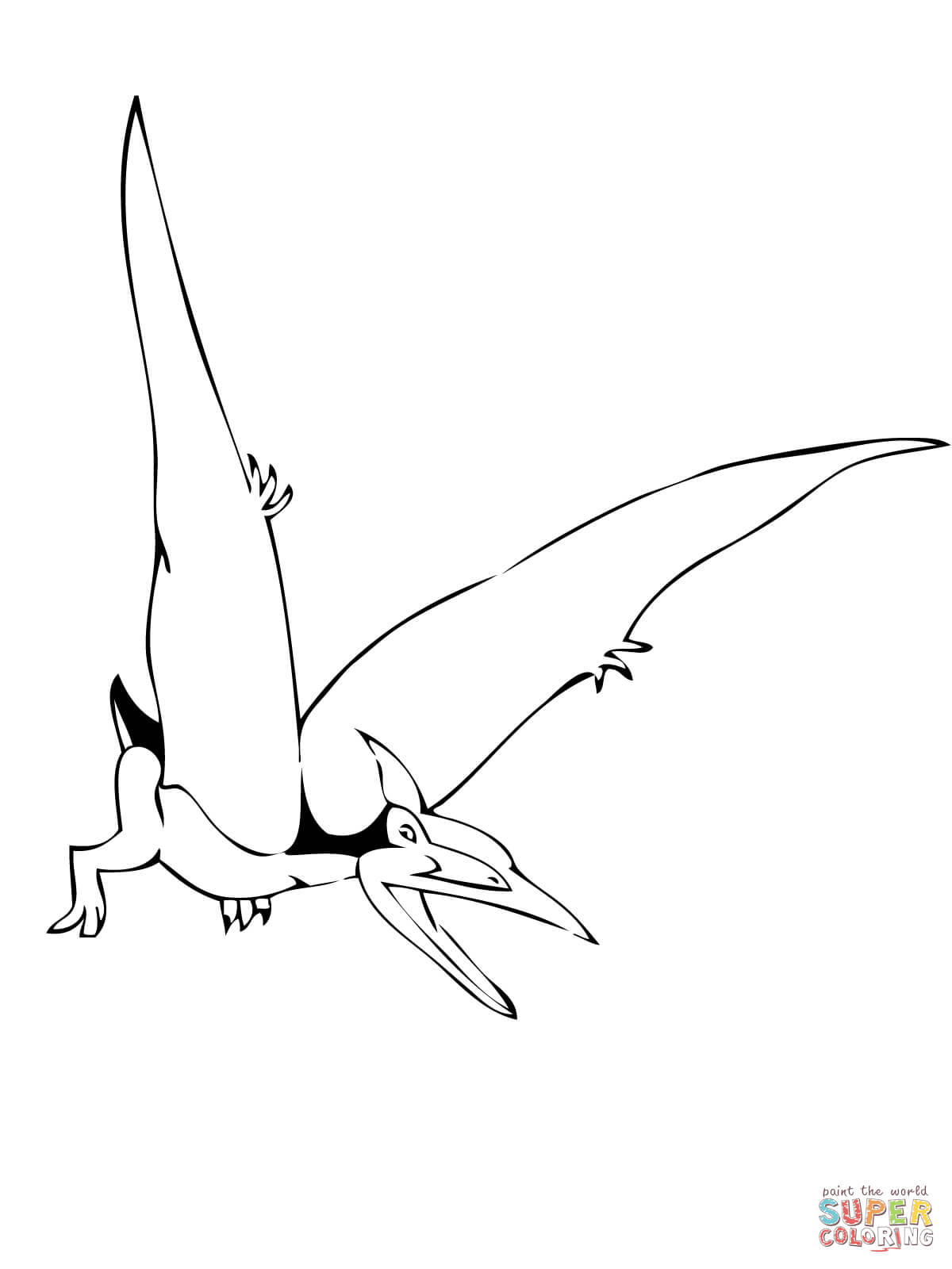 Pterodactyl Drawing At Getdrawings