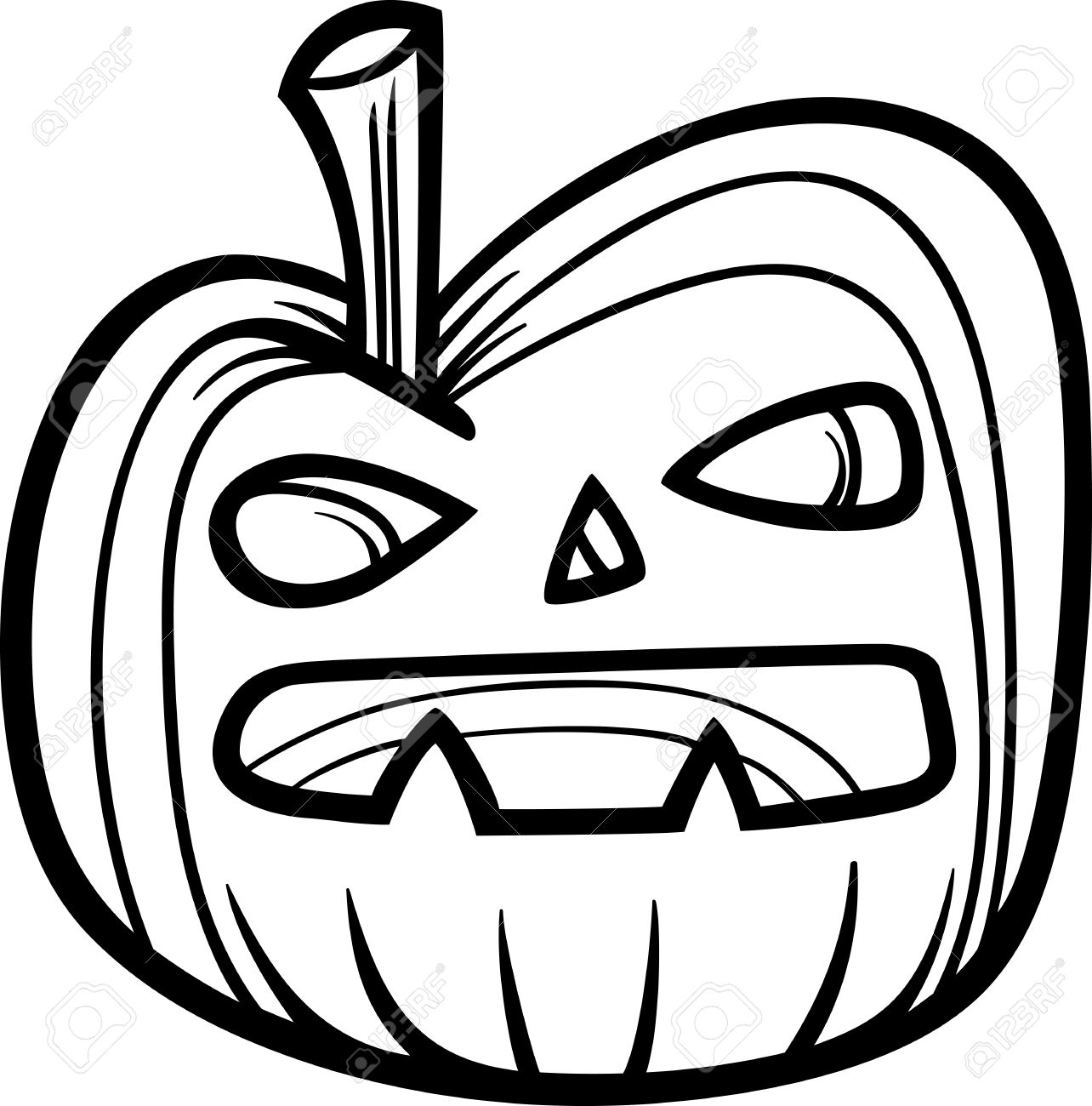 Pumpkin Cartoon Drawing At Getdrawings