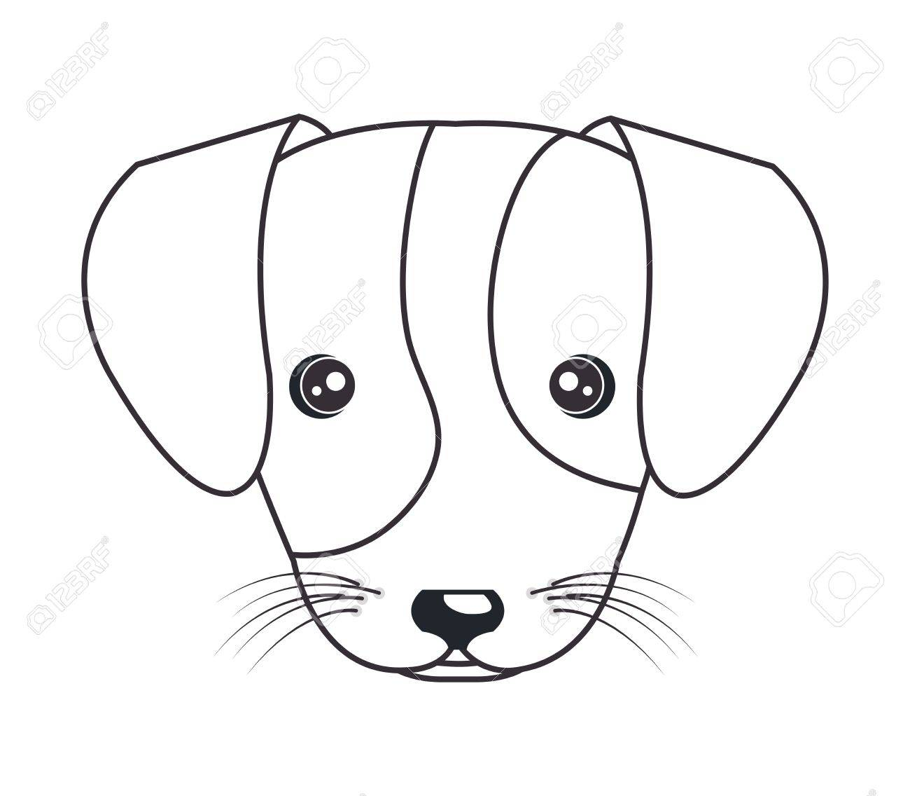 Puppy Dog Face Drawing At Getdrawings
