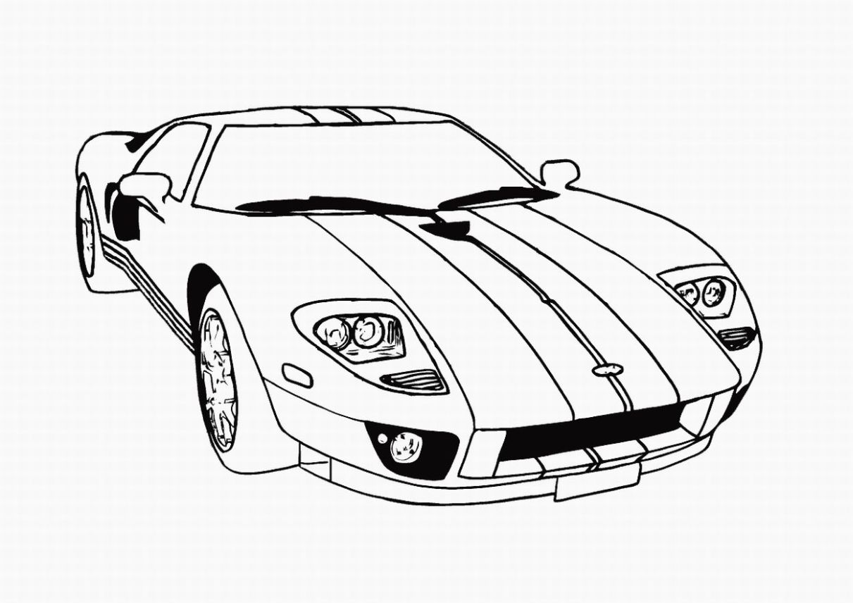 Race Car Drawing Easy At Getdrawings