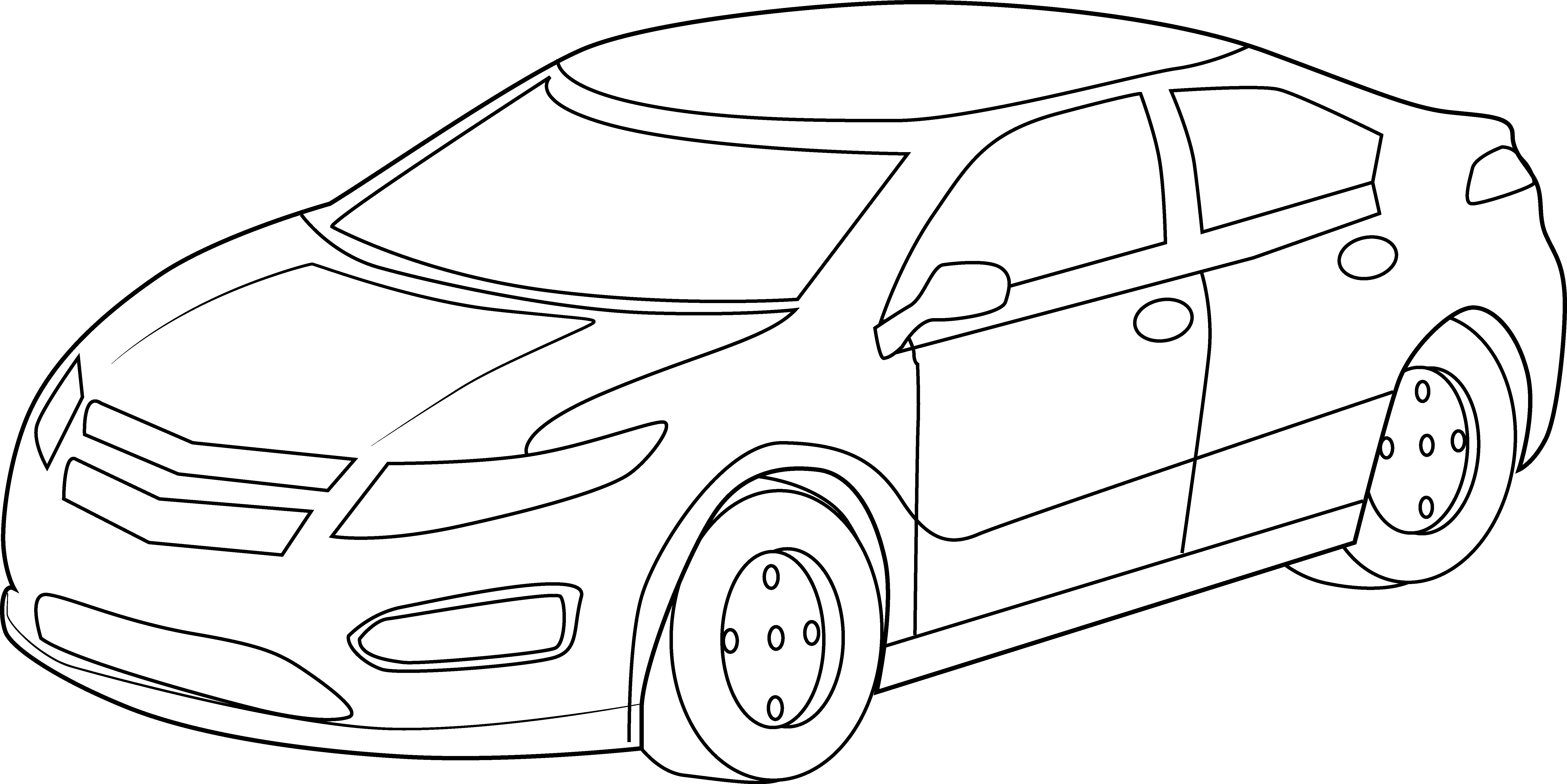 Race Car Drawing Step By Step At Getdrawings
