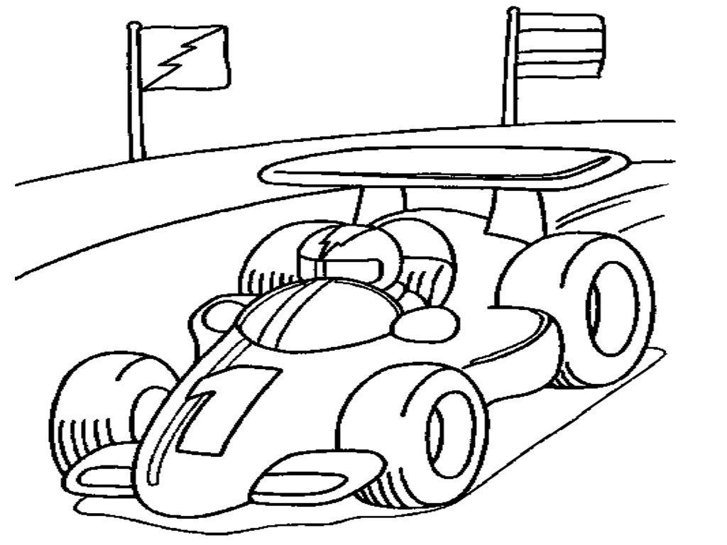 Race Car Driver Drawing At Getdrawings
