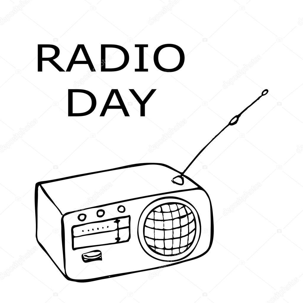 Radio Drawing At Getdrawings