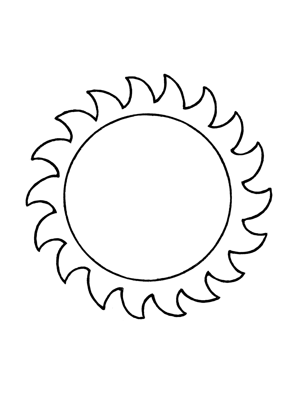 Realistic Sun Drawing At Getdrawings