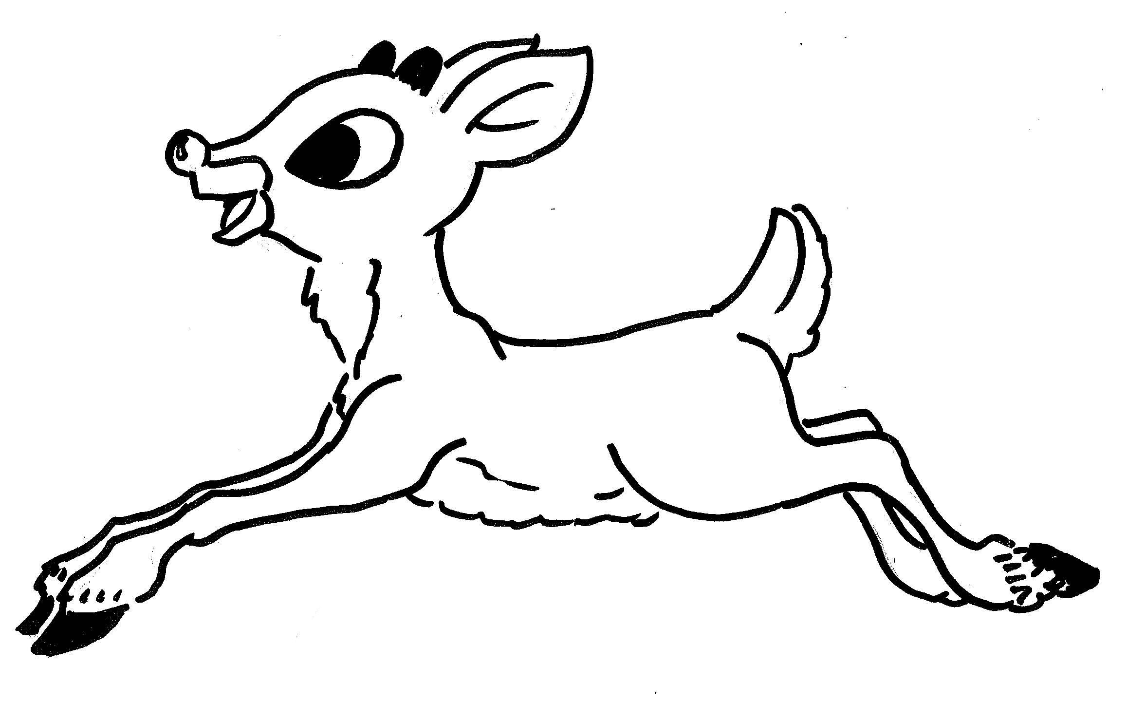 The Best Free Rudolph Drawing Images Download From 314