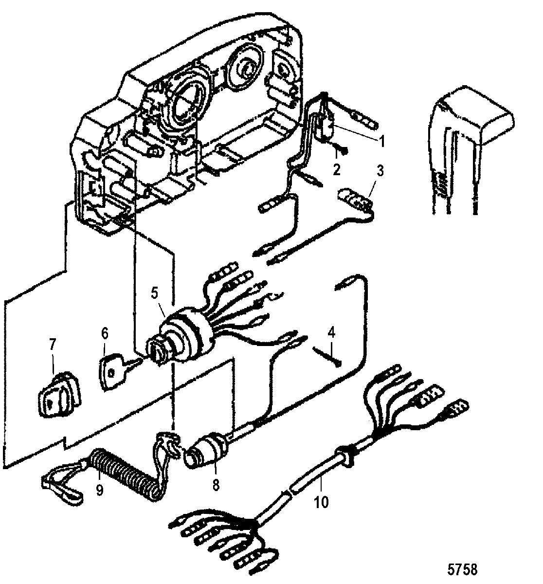 Mercury Outboard Control Wiring Diagram
