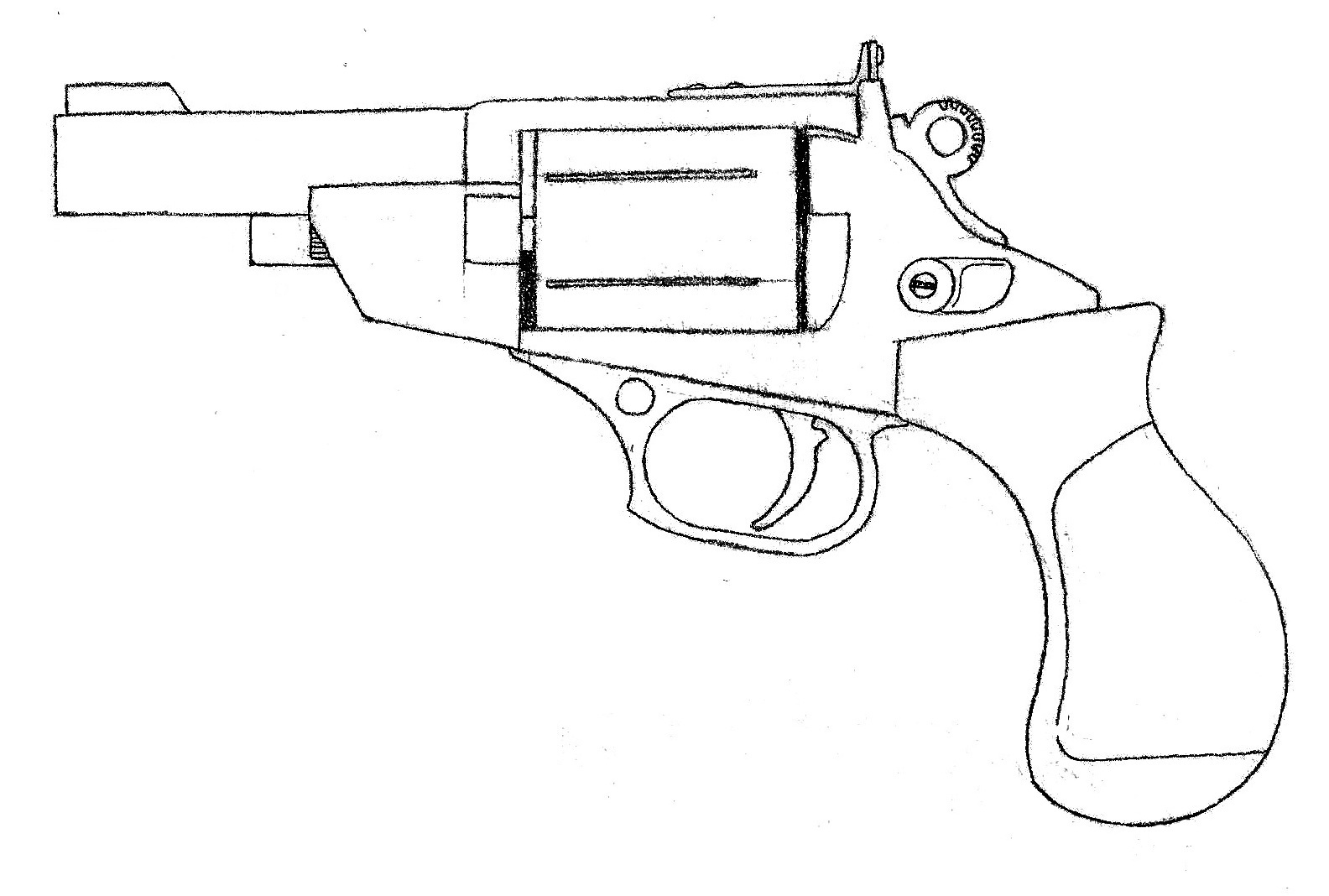 The Best Free Ruger Drawing Images Download From 14 Free