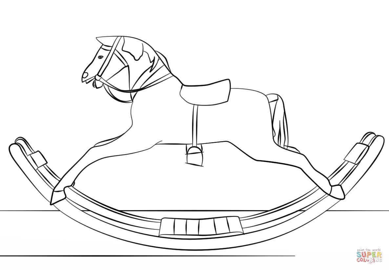 Rocking Horse Drawing At Getdrawings