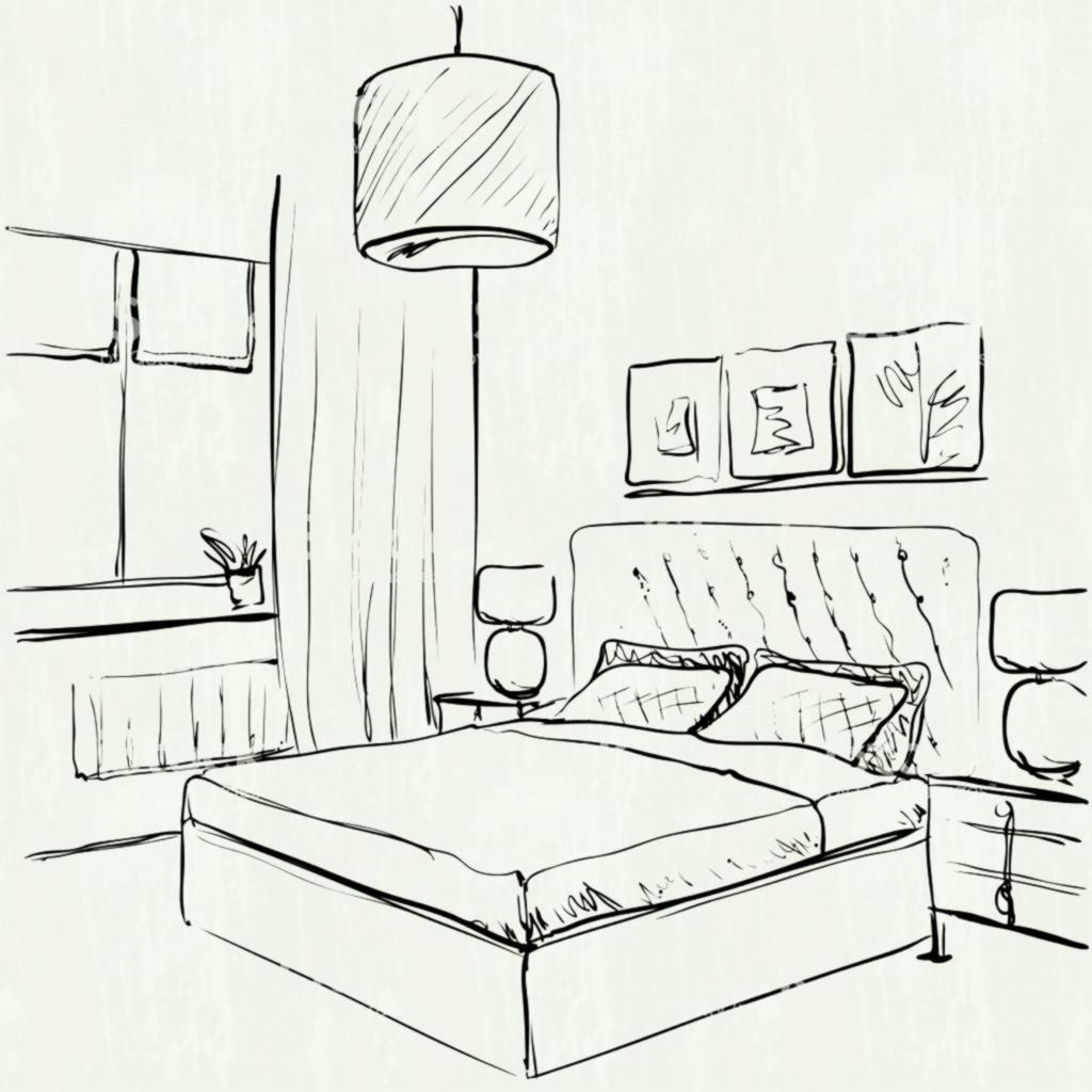 Hospital Room Drawing At Getdrawings Com