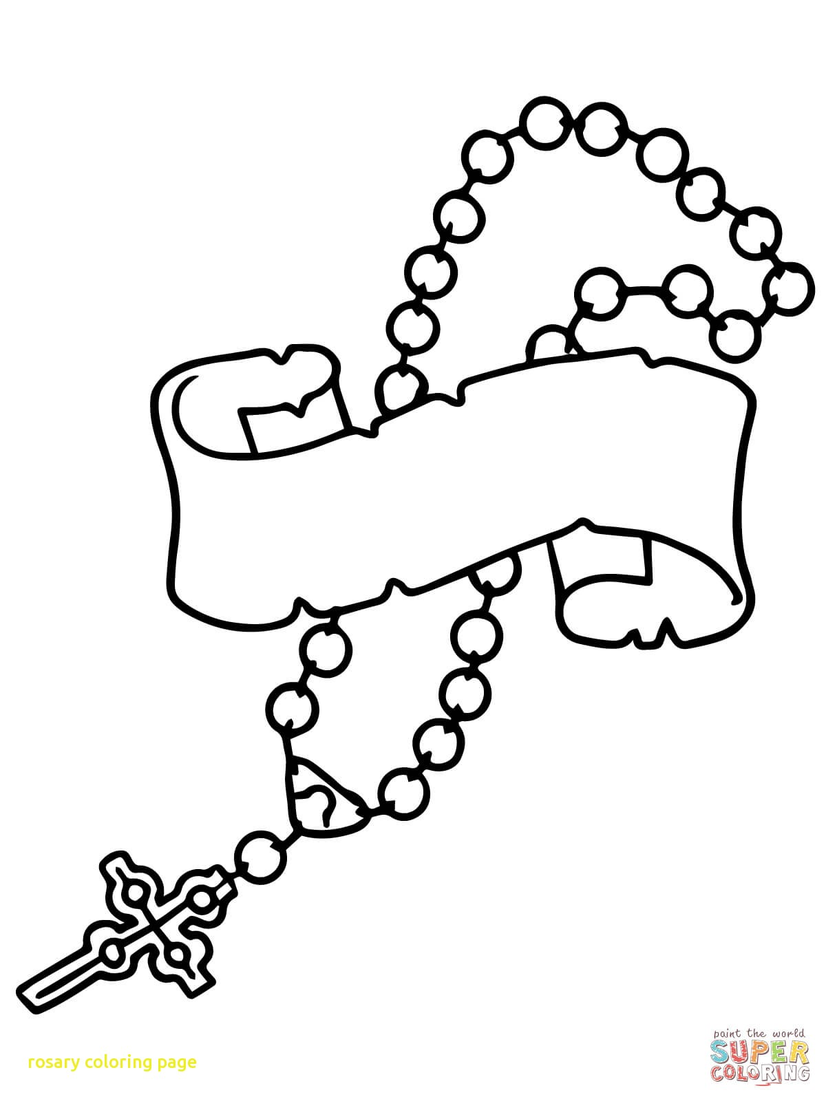 Rosaries Drawing At Getdrawings
