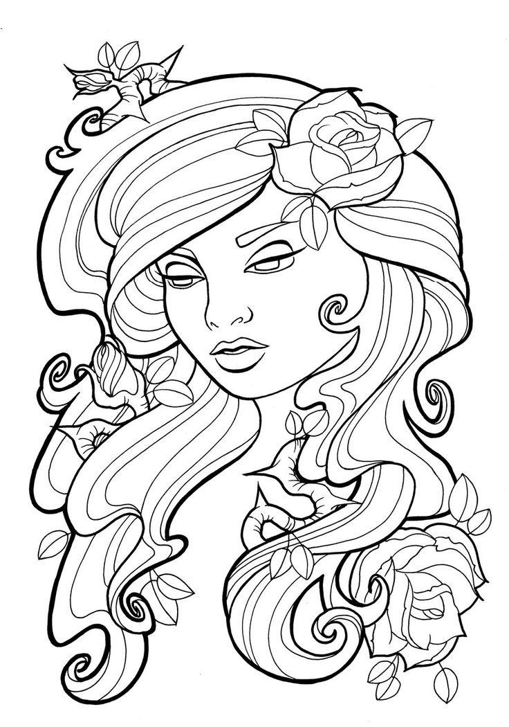 rose skull drawing at getdrawings  free download