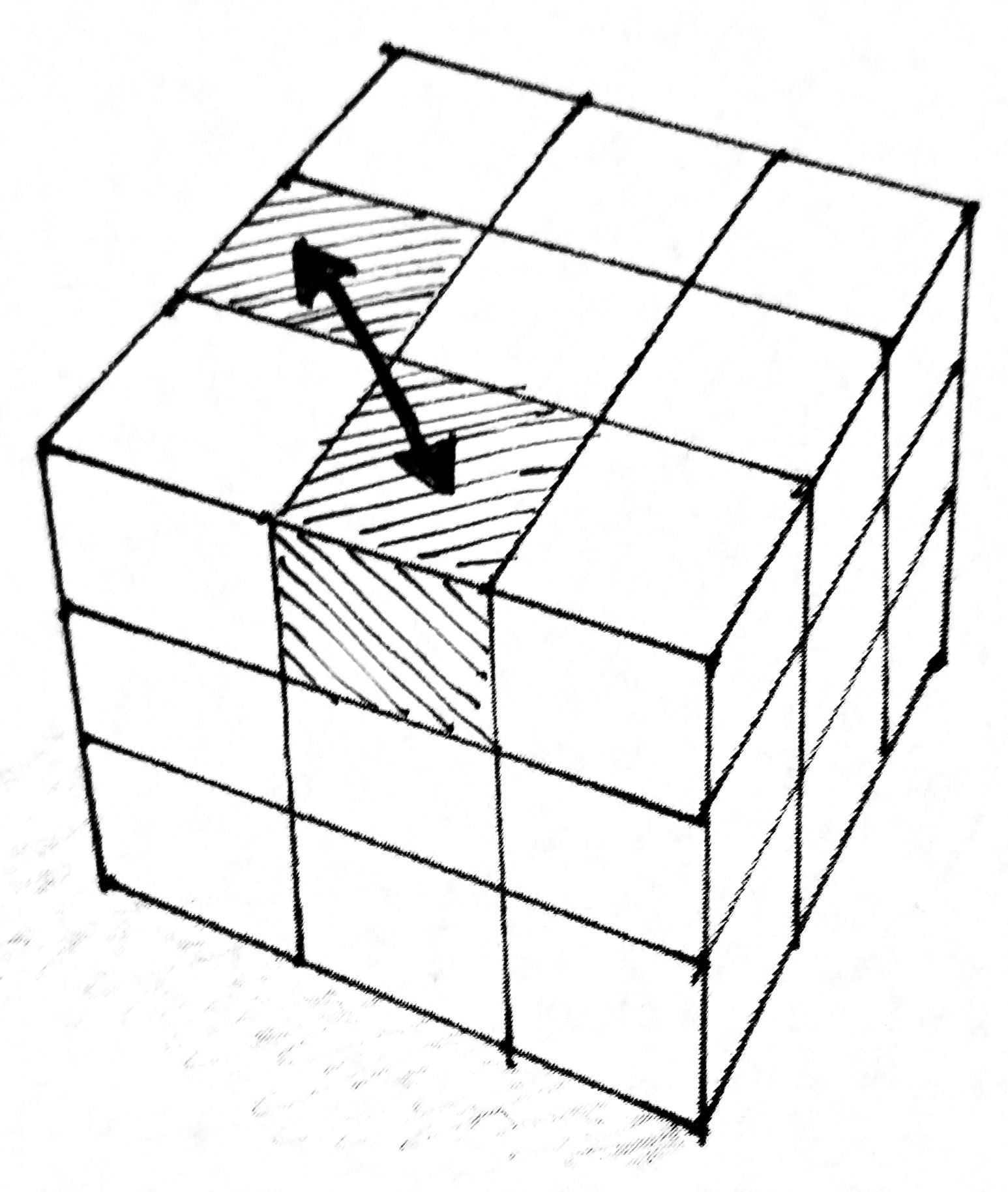 Rubiks Cube Drawing At Getdrawings
