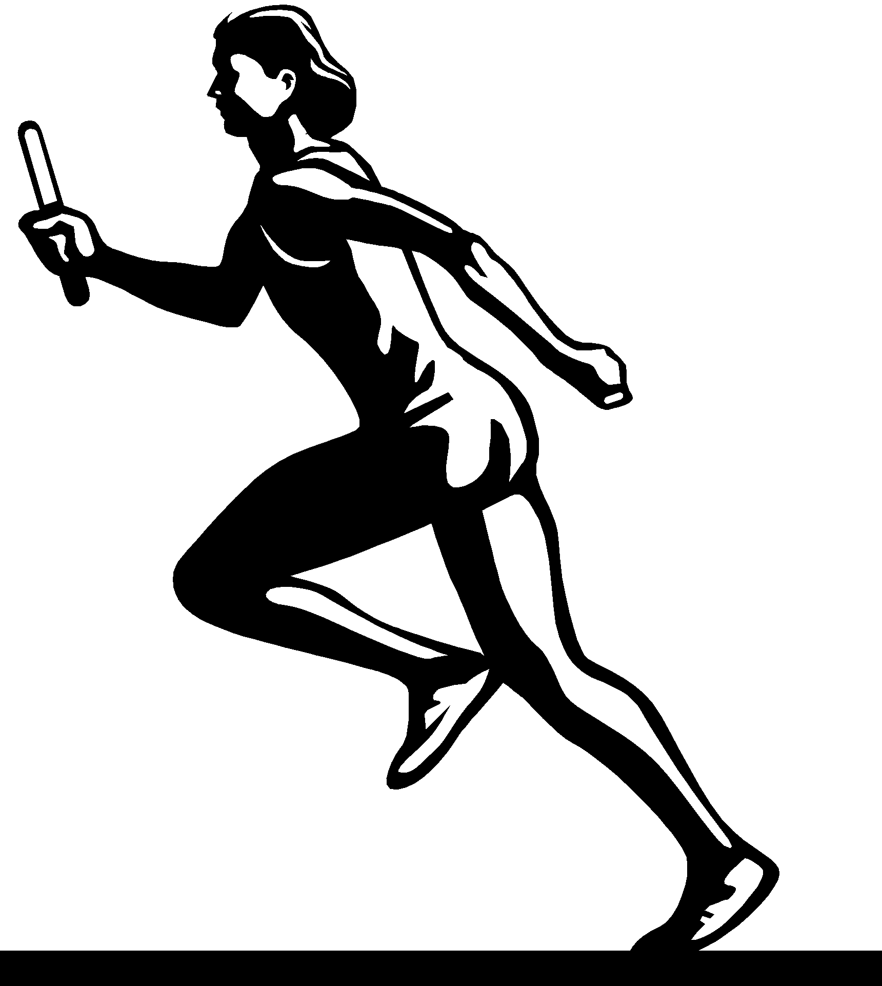 Running Track Drawing At Getdrawings
