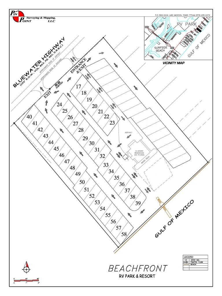 768x1024 beachfront rv resort layout surfside beach tx