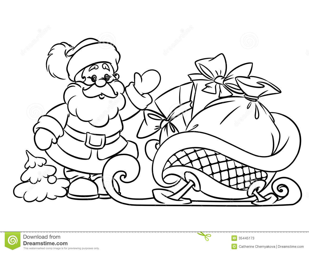 Santa Claus Drawing Images At Getdrawings