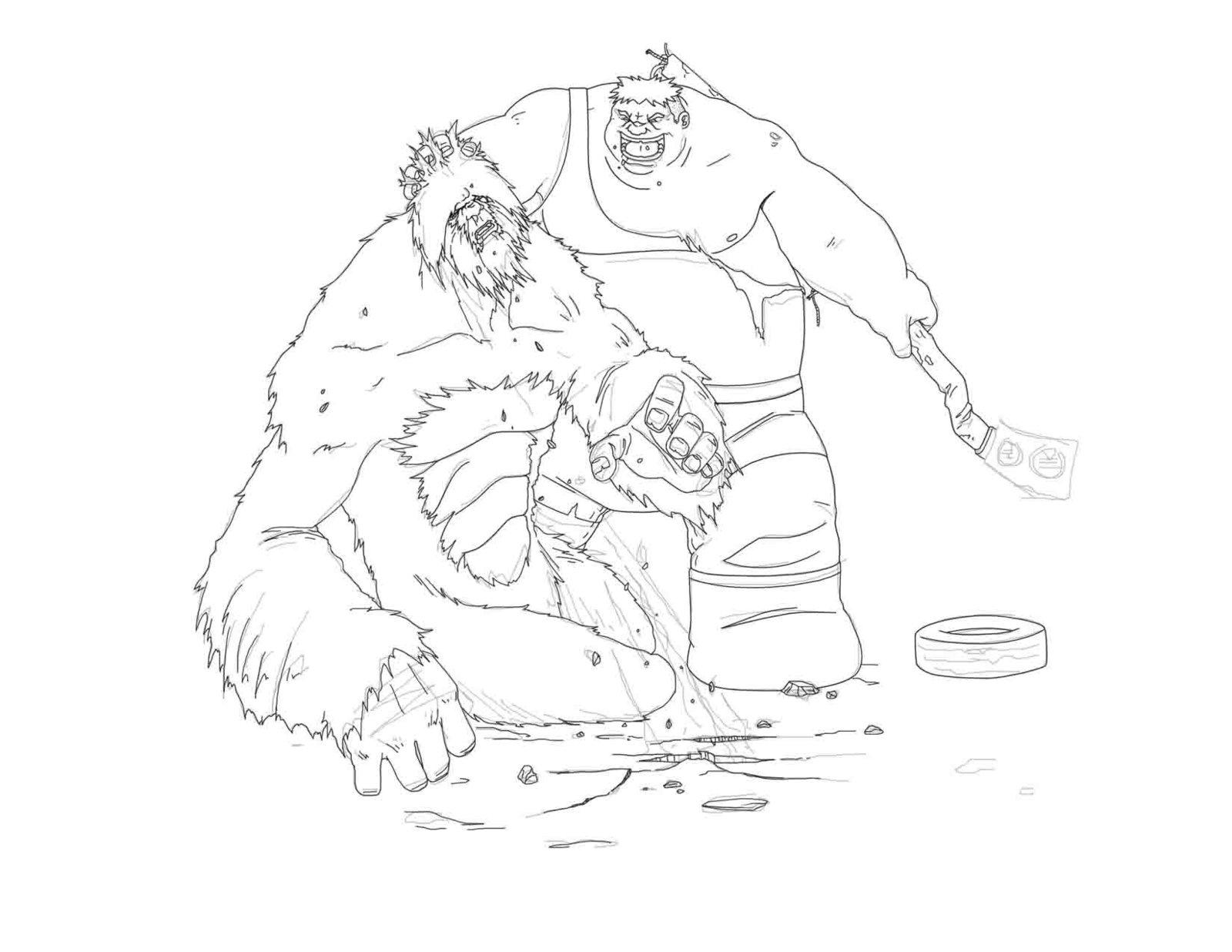 Sasquatch Drawing At Getdrawings