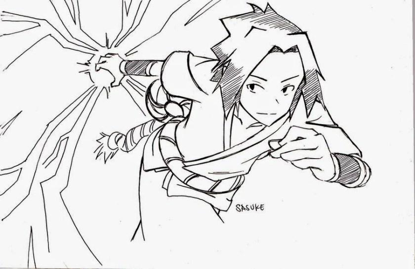 sasuke drawing at getdrawings  free download