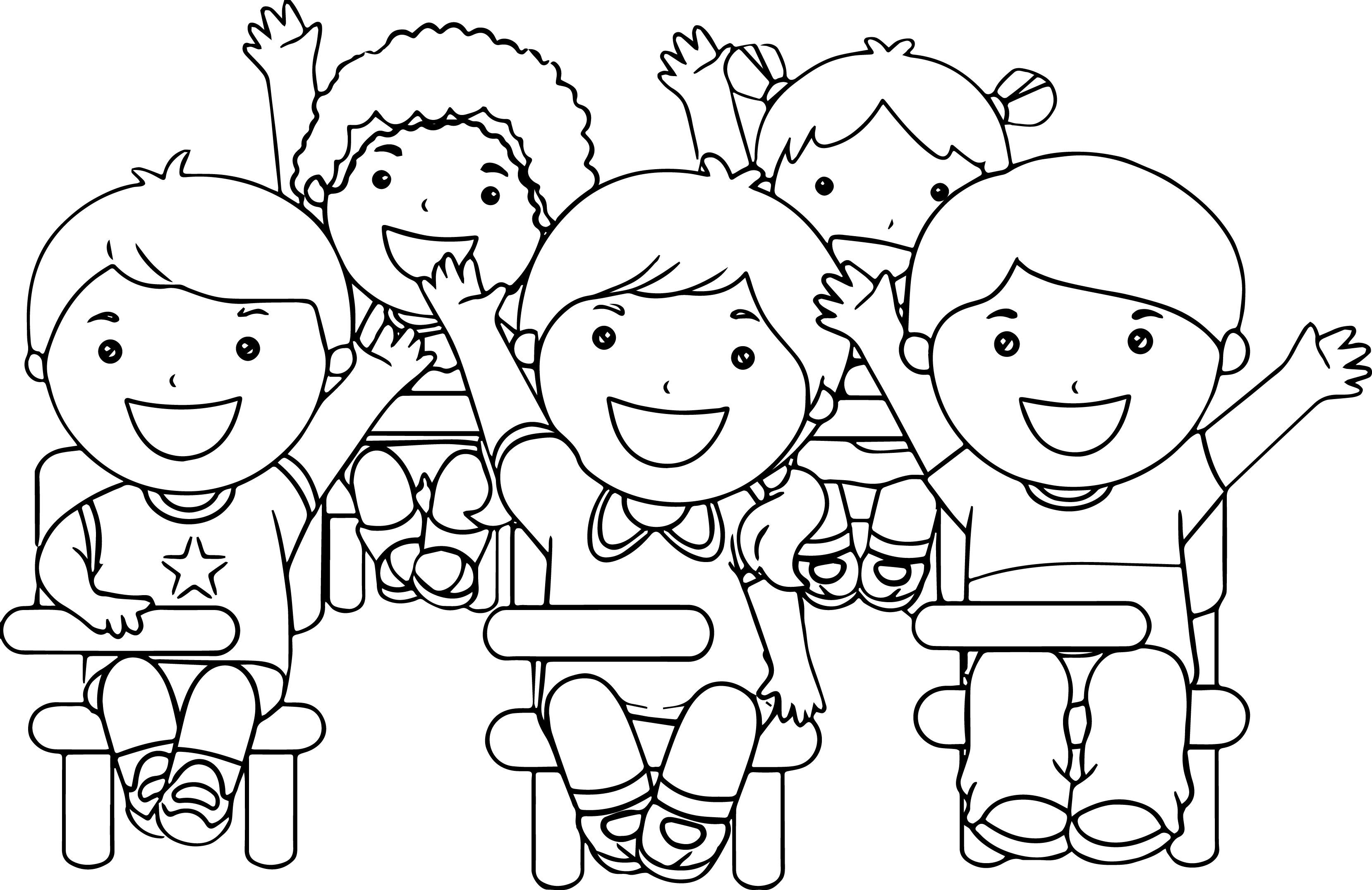 School Kid Drawing At Getdrawings