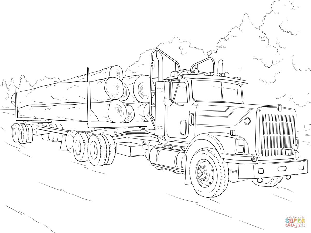 Semi Trailer Drawing At Getdrawings