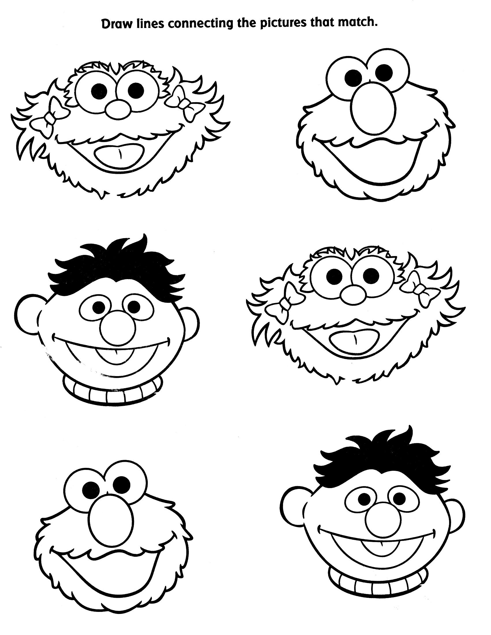 Sesame Street Drawing At Getdrawings