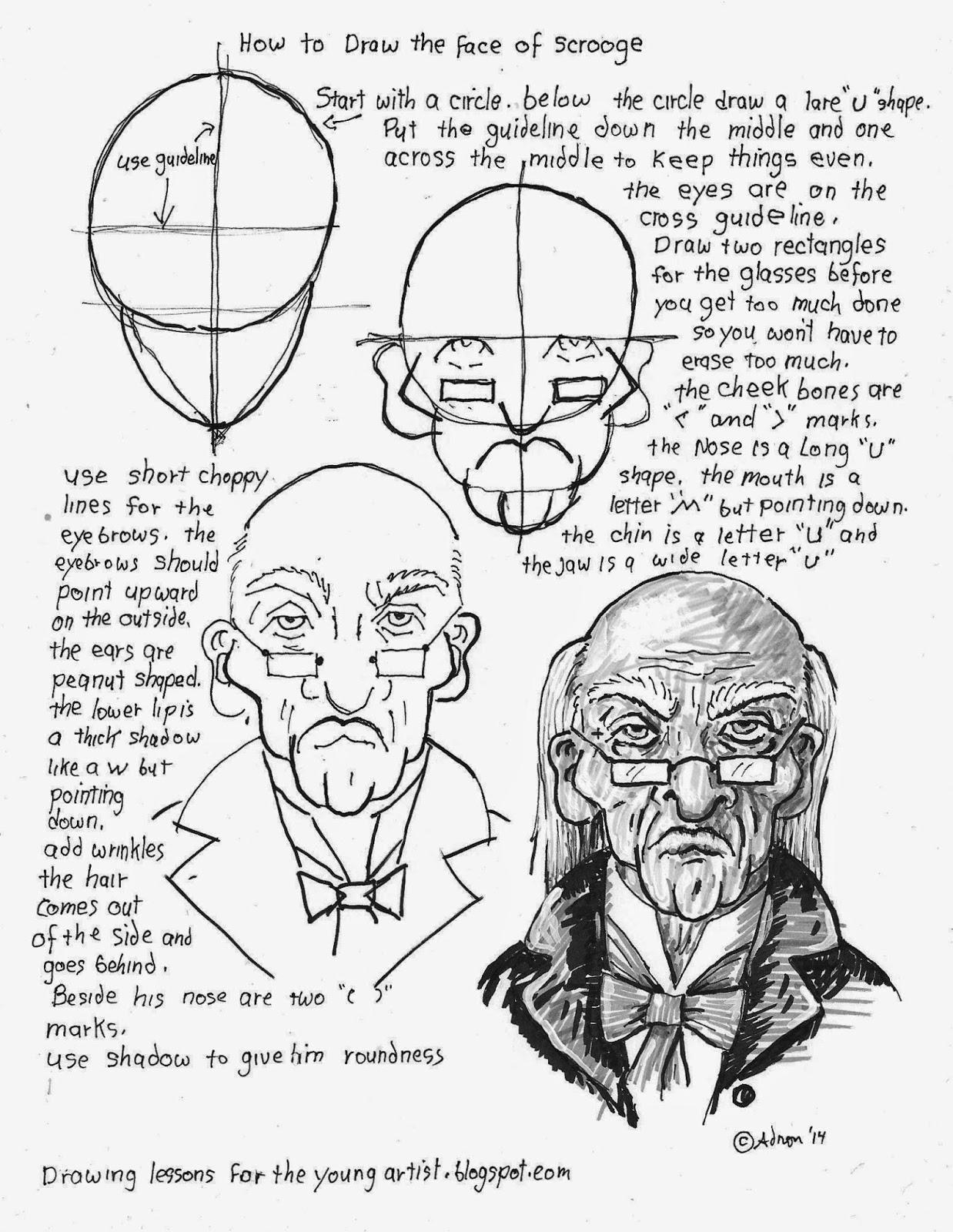 Shadow Face Drawing At Getdrawings
