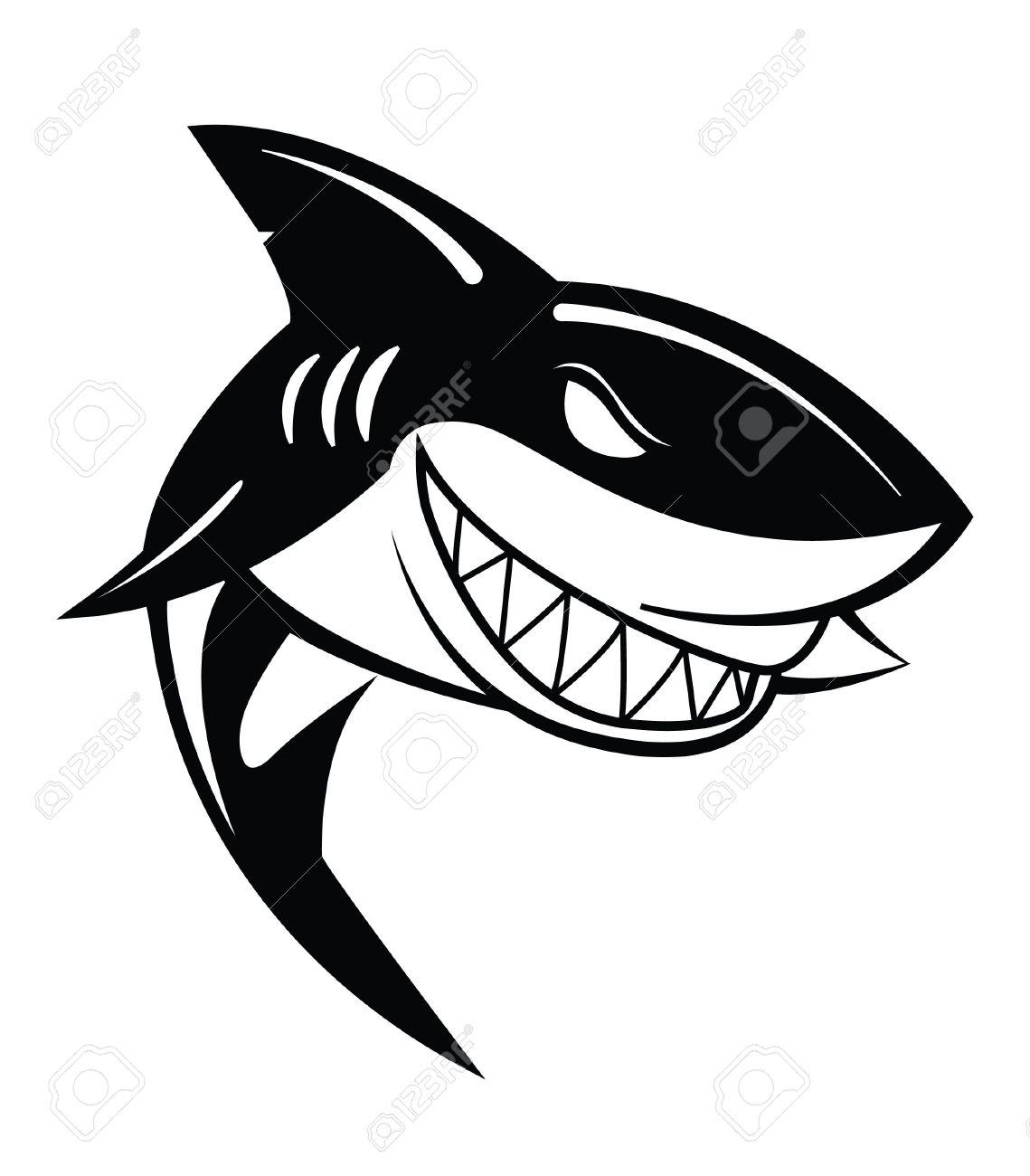 Shark Mouth Drawing At Getdrawings