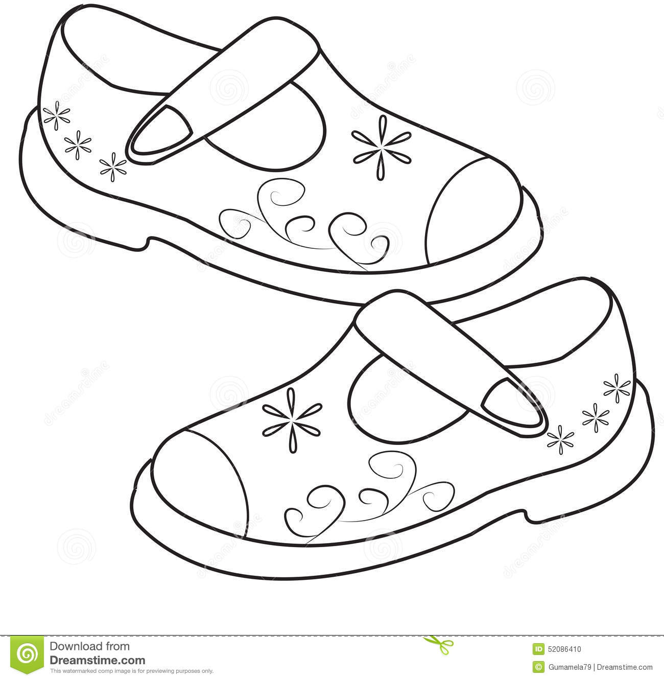 Shoe Print Drawing At Getdrawings Com