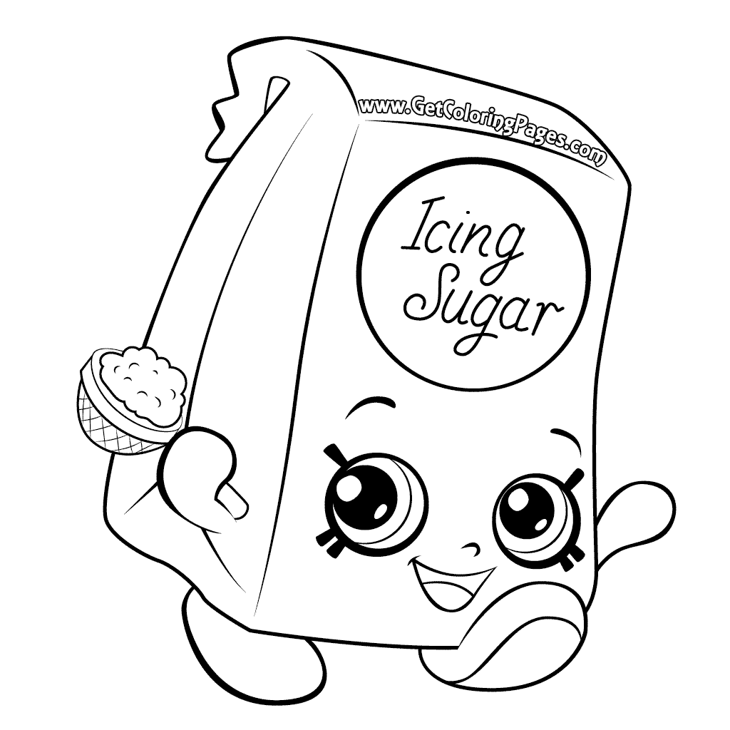 Shopkins Drawing Pages At Getdrawings