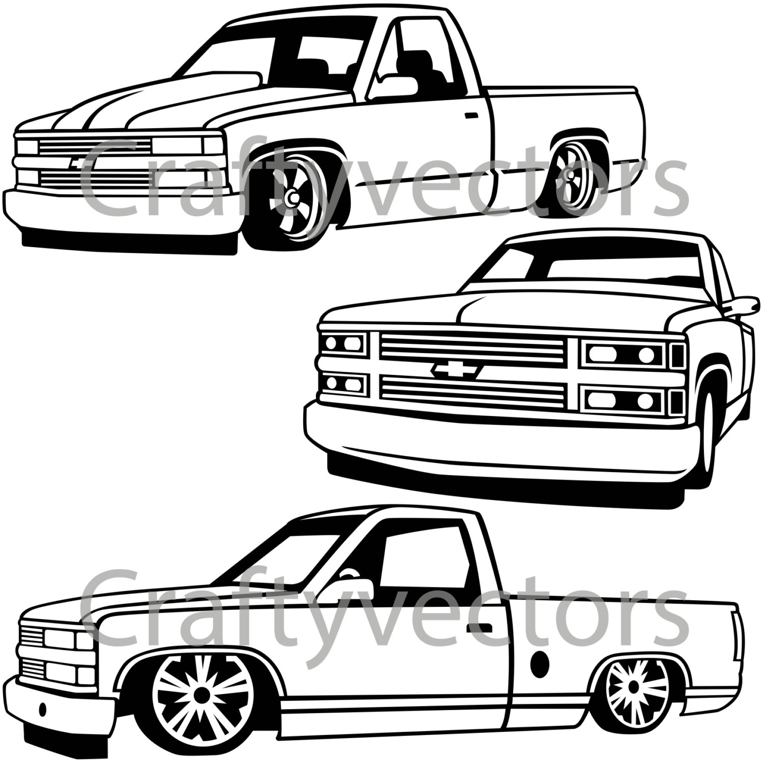 Silverado Drawing At Getdrawings