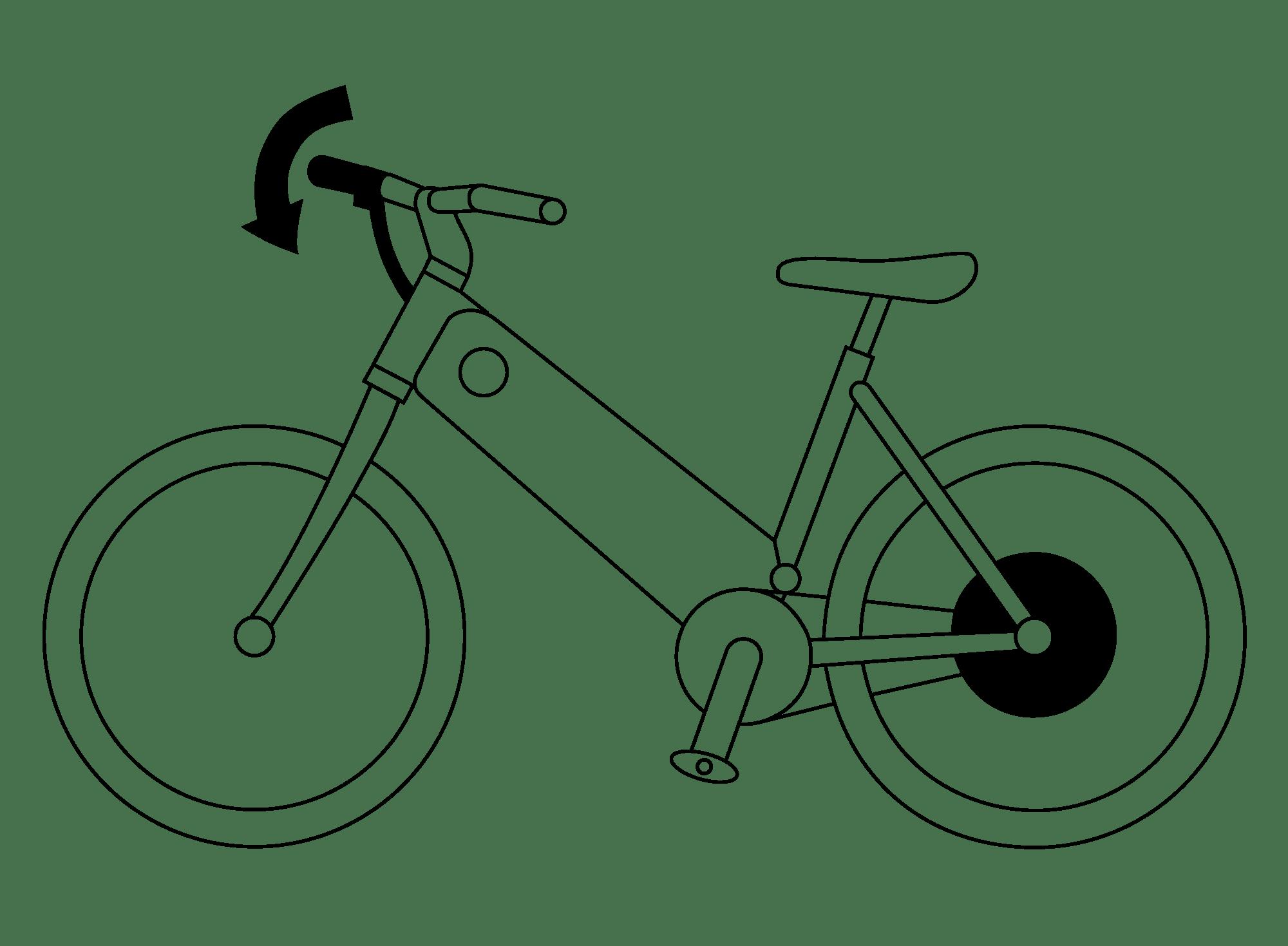 Simple Bicycle Drawing At Getdrawings