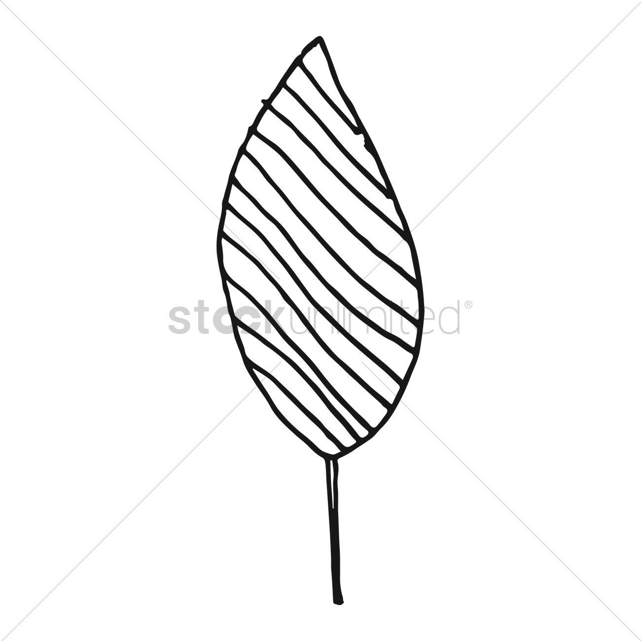 Simple Leaf Drawing At Getdrawings