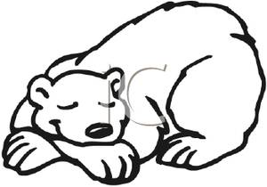 Sleeping Bear Drawing at GetDrawings   Free download (300 x 210 Pixel)