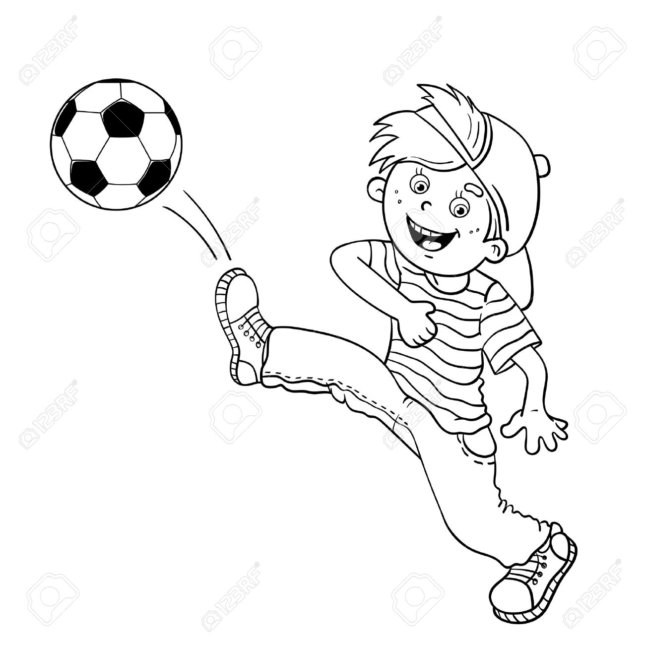Small Soccer Ball Drawing At Getdrawings