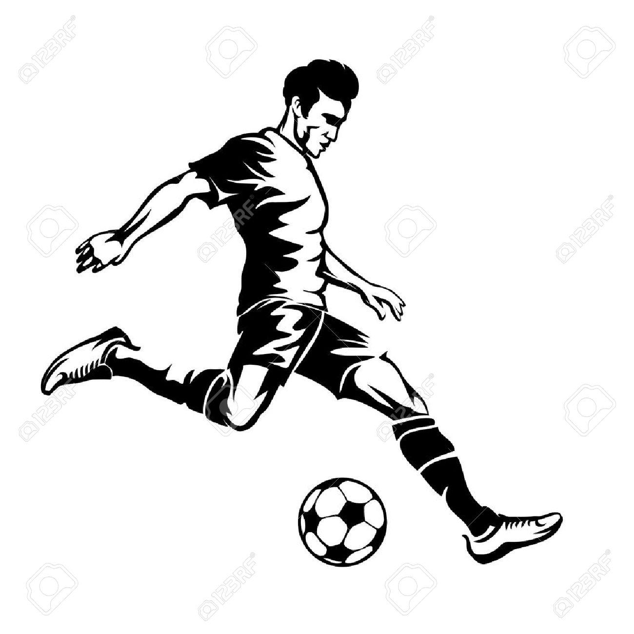 Soccer Ball Drawing At Getdrawings