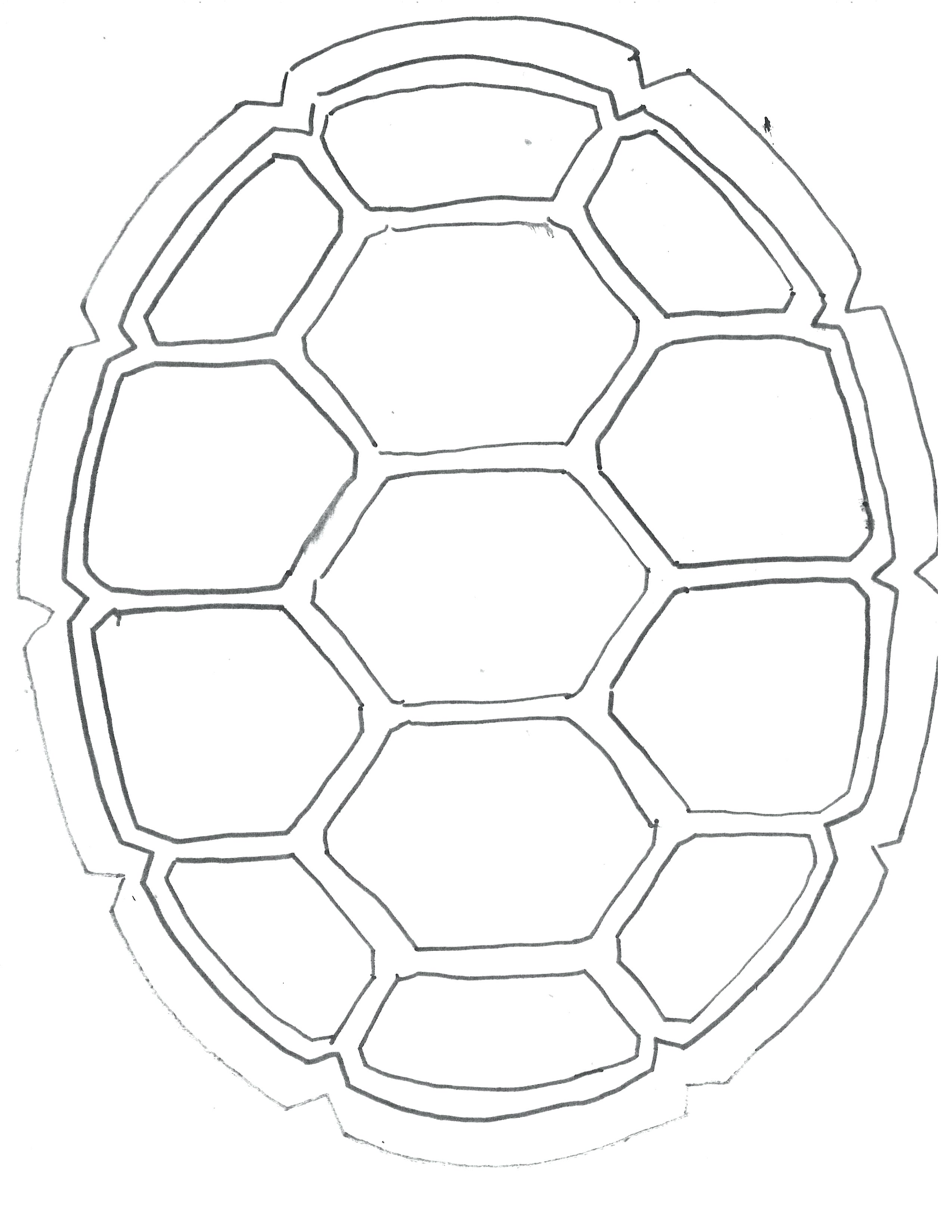 Soccer Ball Drawing Template At Getdrawings
