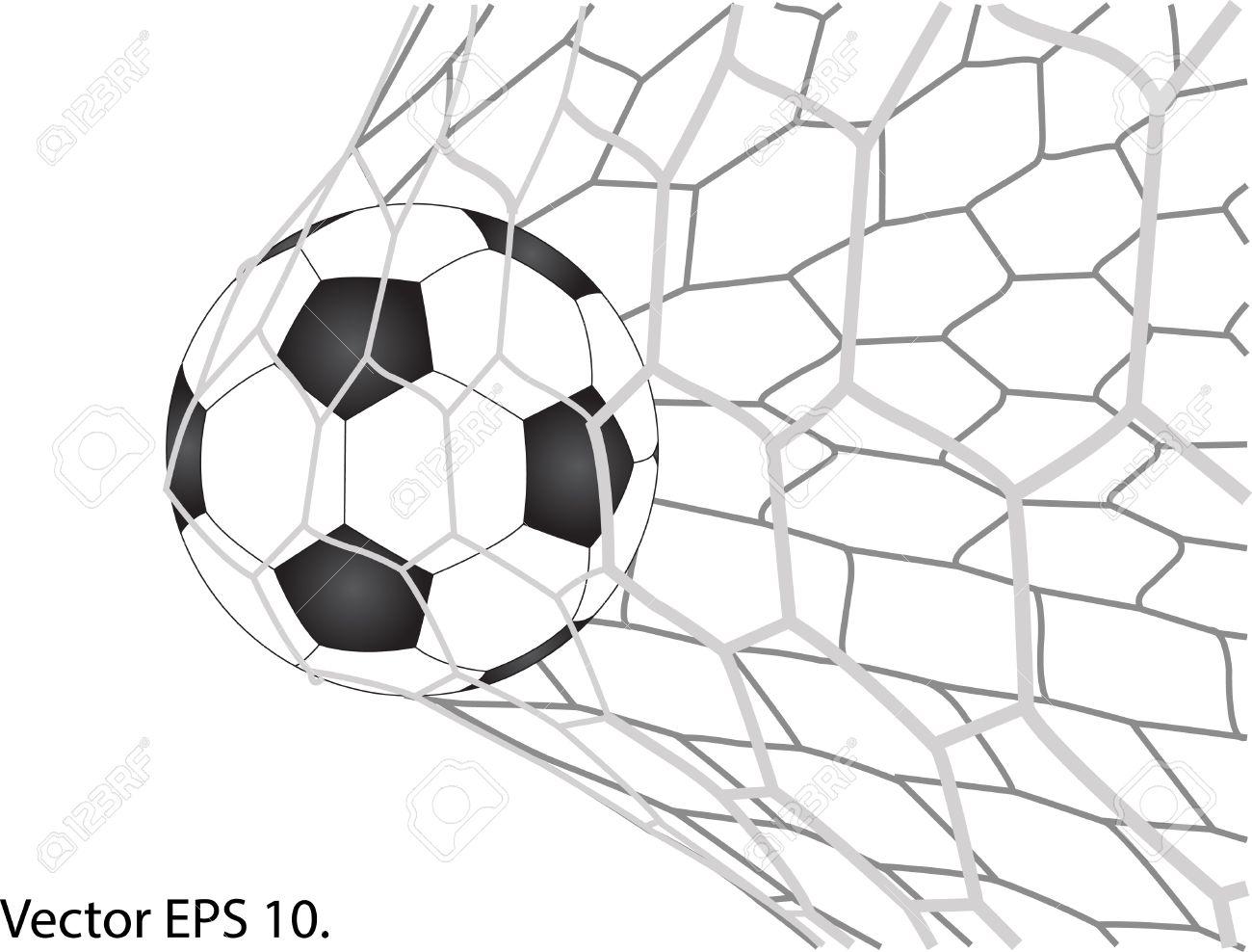 Soccer Goal Drawing At Getdrawings